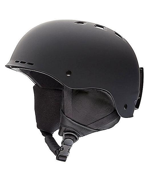 Smith Holt Black Matte Snowboard Helmet