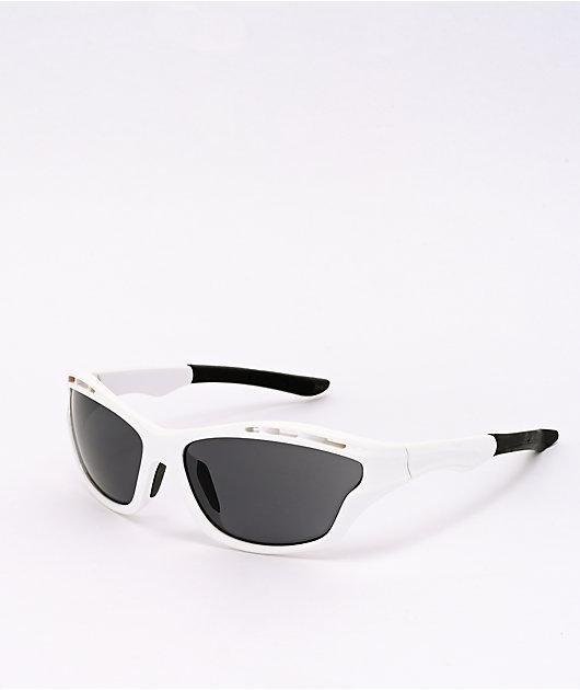 Speedster White & Black Sunglasses