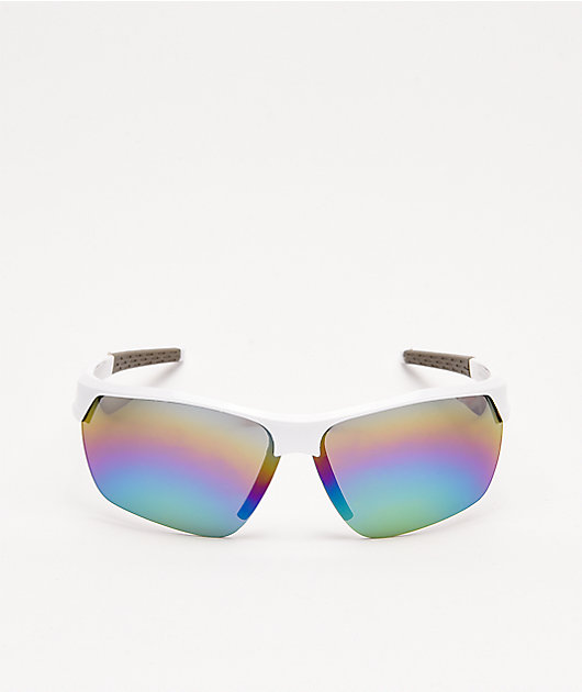 Speedster White Sunglasses