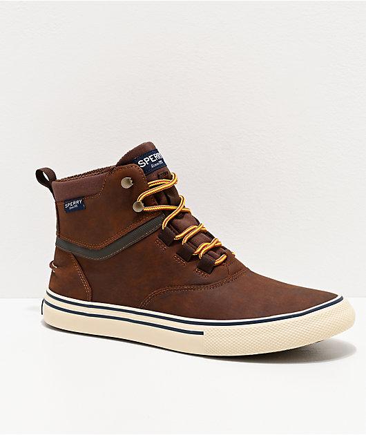 Sperry Striper II Storm Brown & Tan Boots