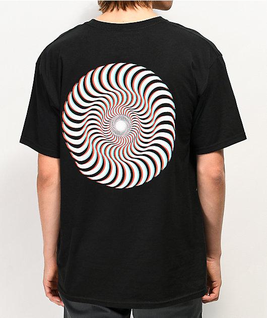Spitfire 3D Classic Swirl T-Shirt