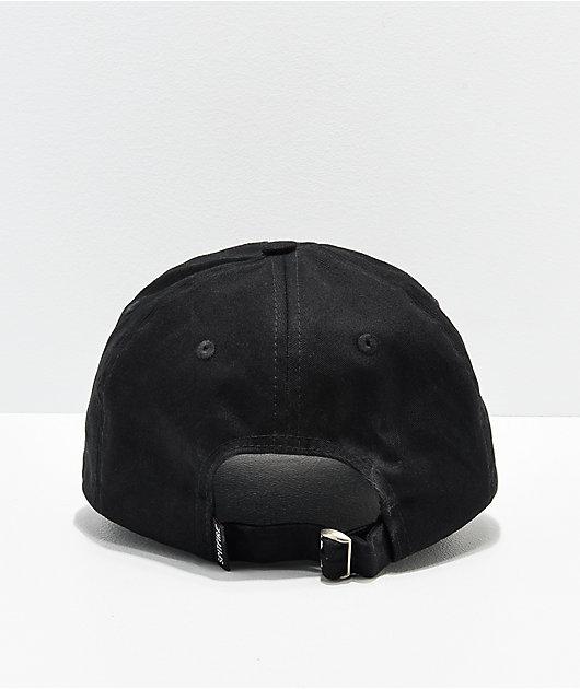 Spitfire Bighead Black & Red Strapback Hat