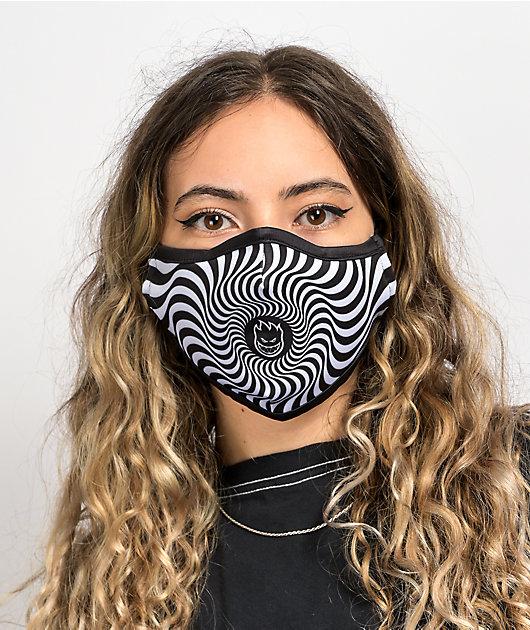 Spitfire Bighead Swirl Face Cover