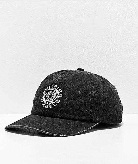 Spitfire Classic '87 Swirl Black Strapback Hat
