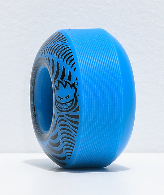 Spitfire Flashpoint 48mm 99a Blue Skateboard Wheels