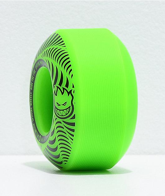 Spitfire Flashpoint 48mm 99a Green Skateboard Wheels