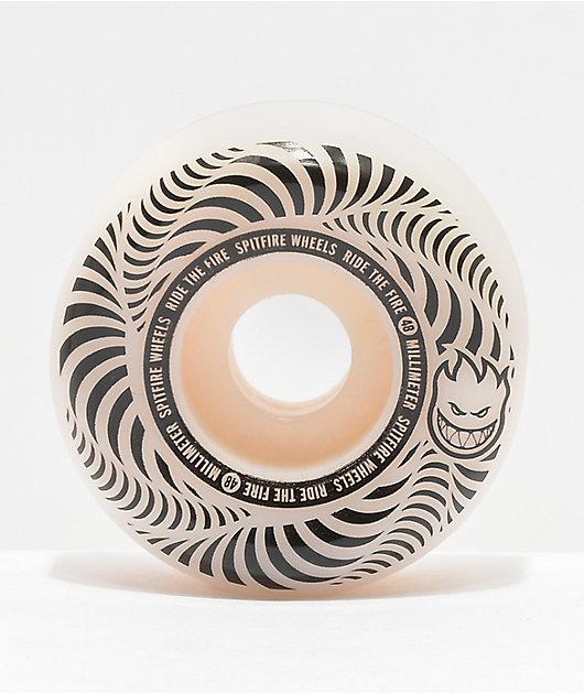 Spitfire Flashpoint 48mm 99a Natural Skateboard Wheels