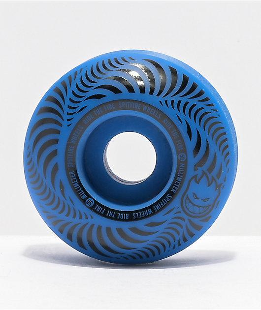 Spitfire Flashpoint 50mm 99a Blue Skateboard Wheels