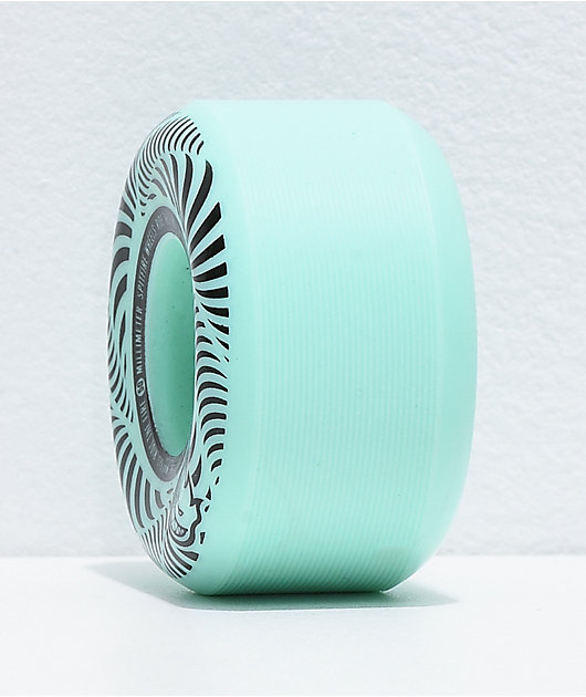 Spitfire Flashpoint 50mm 99a Turquoise Skateboard Wheels