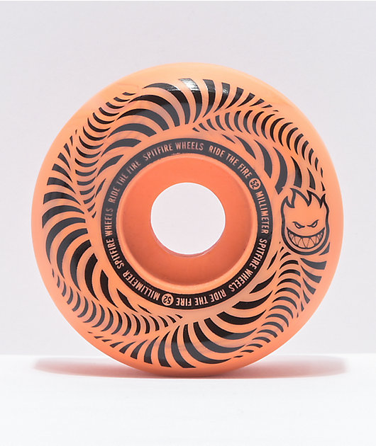 Spitfire Flashpoint 52mm 99a Light Orange Skateboard Wheels