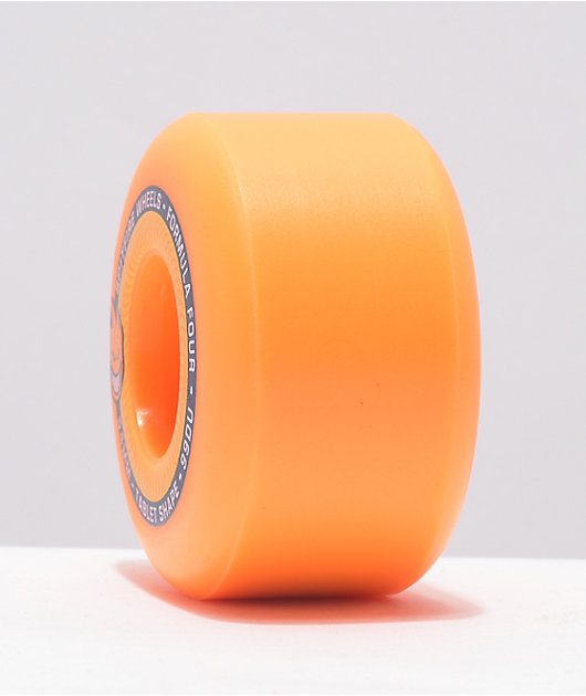 Spitfire Formula Four 54mm 99a Orange Skateboard Wheels