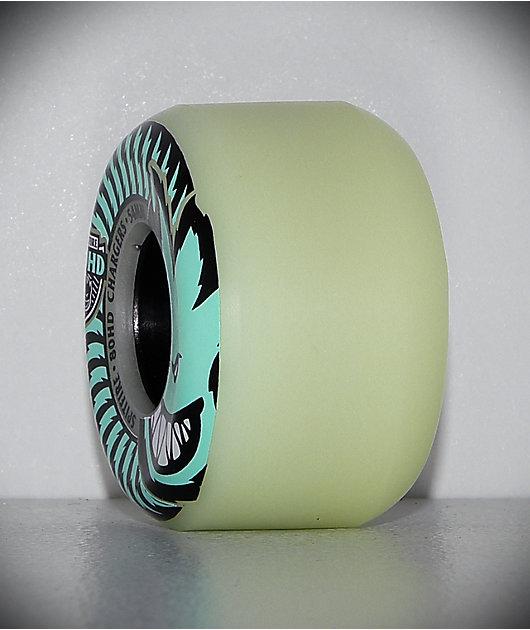 Spitfire Formula Four Conical Stay Lit 54mm 80HD ruedas de skate azules