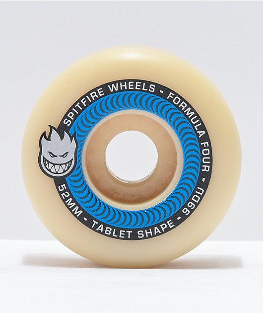 Spitfire Formula Four Tablets 52mm 99a Natural Skateboard Wheels