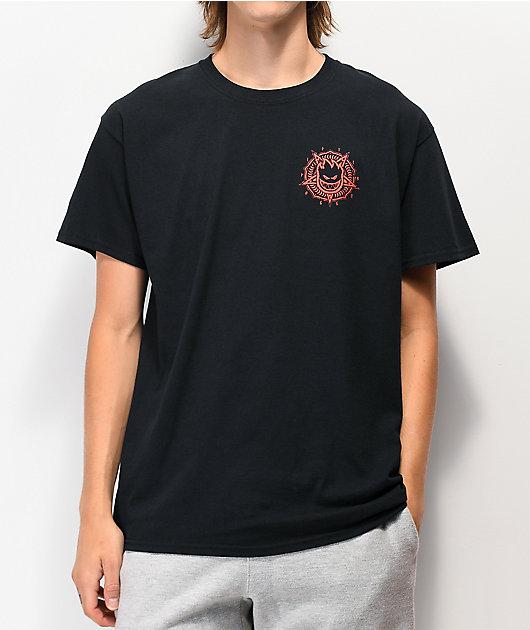 Spitfire Pentaburn Black T-Shirt