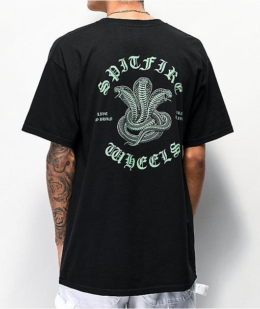 Spitfire Venomous Black T-Shirt