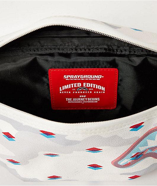 Sprayground 3D Slim Shark Fanny Pack