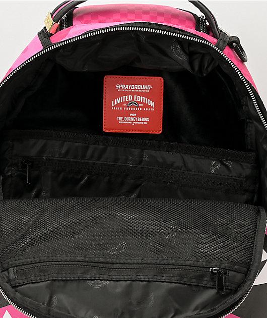 Sprayground Anime Camo Pink Backpack
