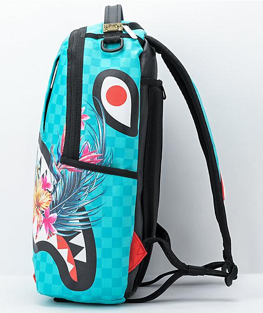 Sprayground Blossom Light Blue Vegan Backpack