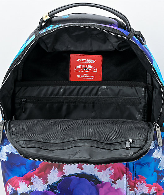 Sprayground Color Drip Blue Vegan Backpack