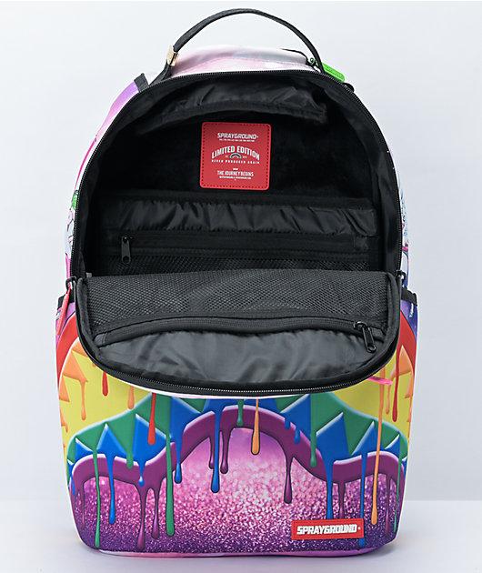 Sprayground Melt The Rainbow Backpack