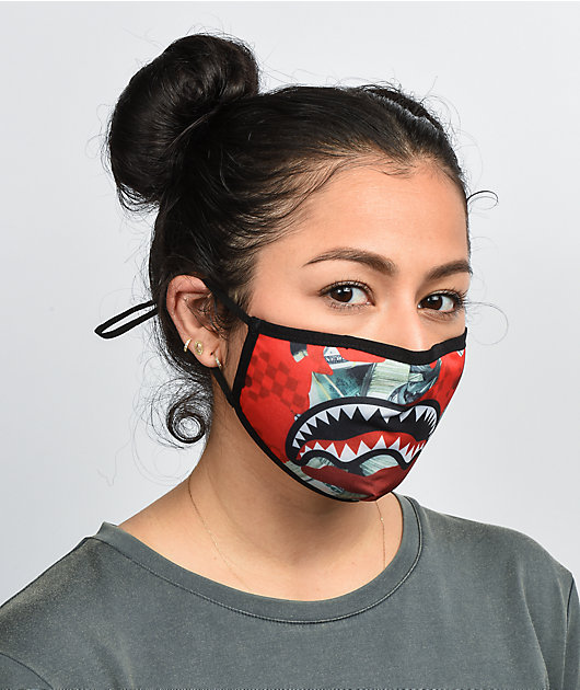 Sprayground Panic Attack Face Cover