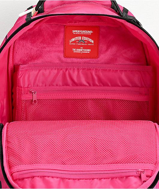 Sprayground Play Me Pink Backpack
