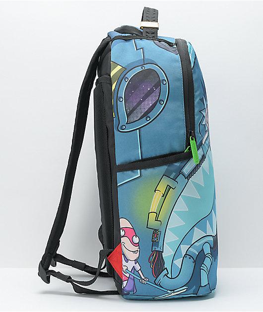 Sprayground Rick & Morty Napsack Backpack (DLXR)