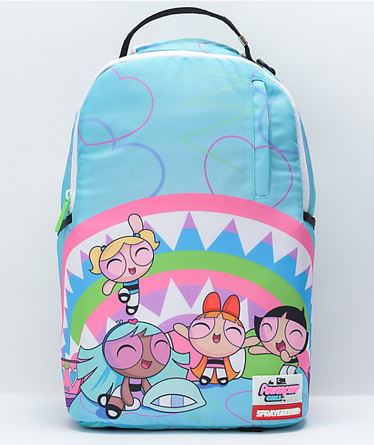 Sprayground x Powerpuff Girls Blue Backpack