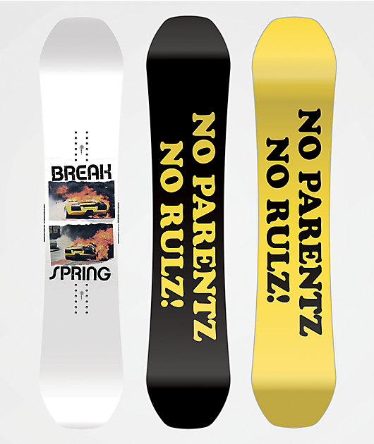 Spring Break Powder Twin Snowboard 2022