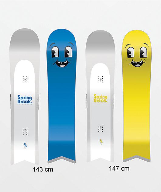 Spring Break Slush Slasher Snowboard 2022