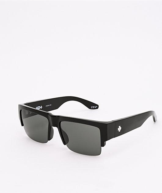 Spy Cyrus 5050 Black & HD Plus Gray Green Sunglasses