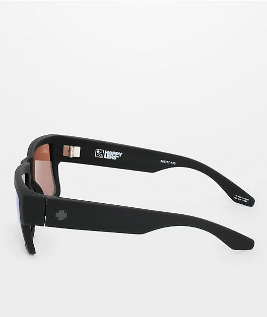 Spy Cyrus Matte Black Happy Bronze & Blue Spectra Sunglasses