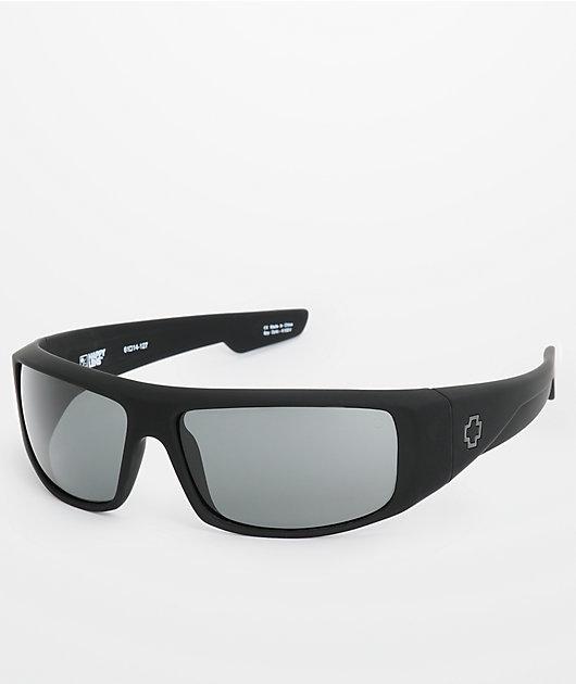Spy Logan Happy Lens gafas de sol en negro mate y gris