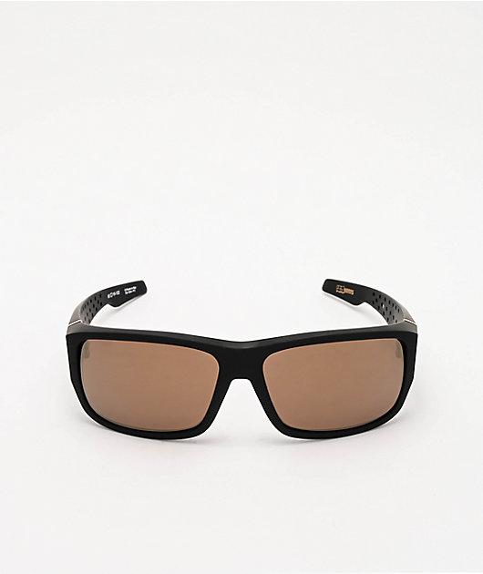 Spy MC3 25th Anniversary Matte Black & Gold Sunglasses