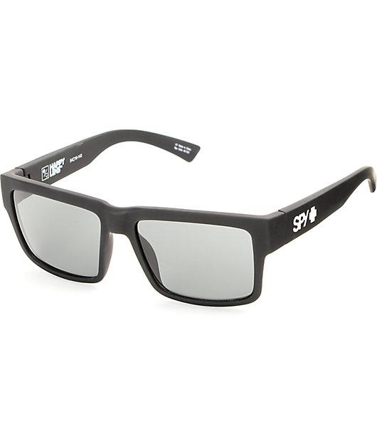 Spy Montana Soft Matte Black Sunglasses