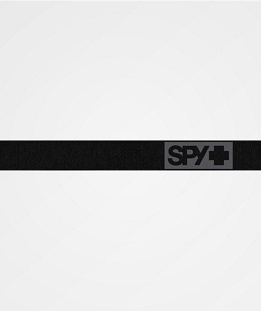 Spy Raider Matte Black & HD Bronze Snowboard Goggles