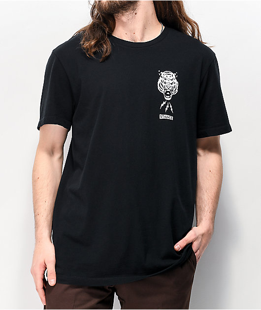 Stance Breather Black T-Shirt