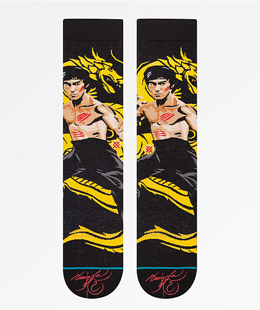 Stance Dragon Black Crew Socks