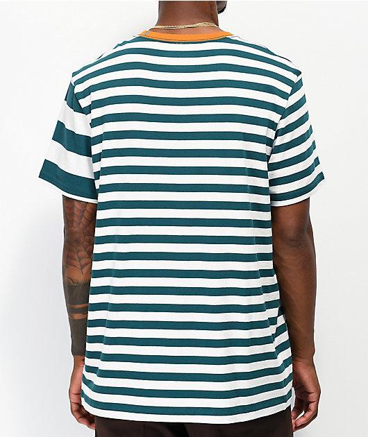 Stance Mariner camiseta verde azulado