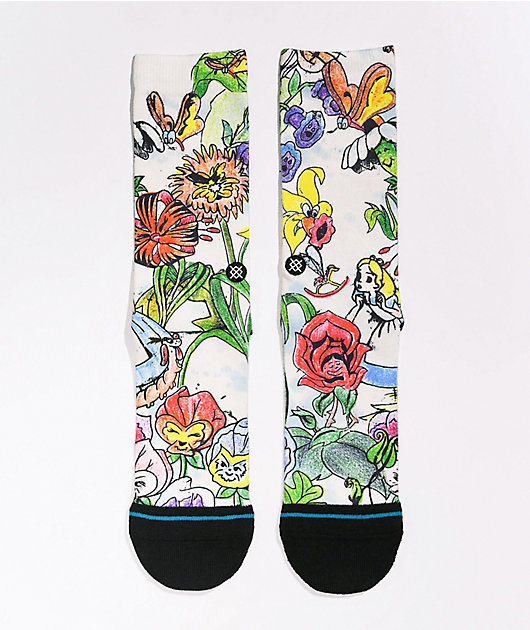 Stance x Alice In Wonderland Golden Afternoon Crew Socks