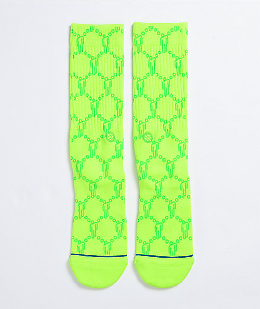 Stance x Billie Eilish Blohsh Green Crew Socks