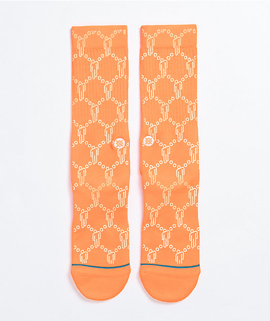 Stance x Billie Eilish Blohsh Orange Crew Socks