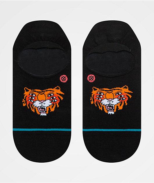 Stance NEW Unisex Cavolo Tiger Crew Socks Black BNWT