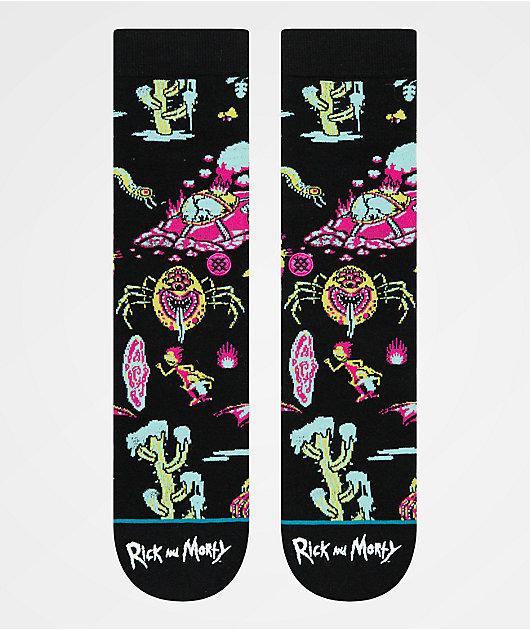 Stance x Rick and Morty Crash Landing Crew Socks