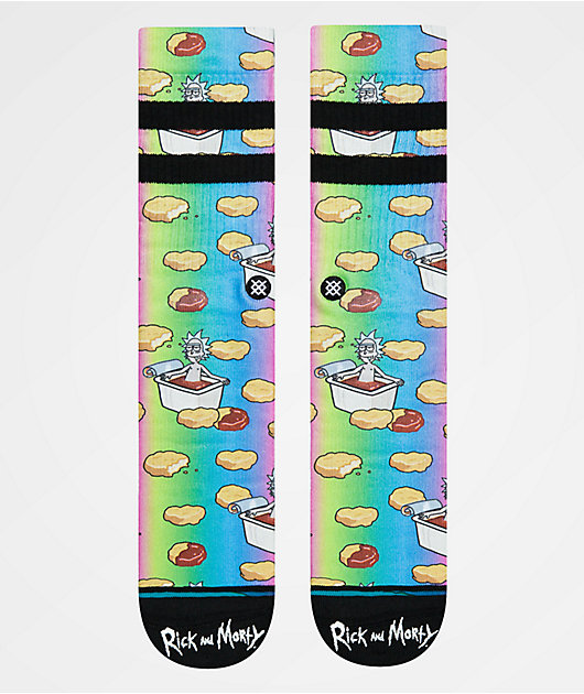 Stance x Rick and Morty Dipping Sauce Crew Socks