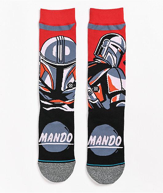 Stance x The Mandalorian Beskar Steel Crew Socks