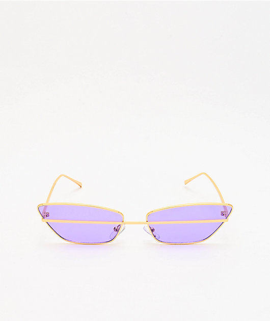 Stand By Me Lavender & Gold Sunglasses