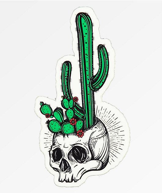 Stickie Bandits Cactus Skull pegatina