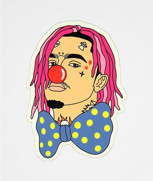 Stickie Bandits Pump Clown Bow Sticker