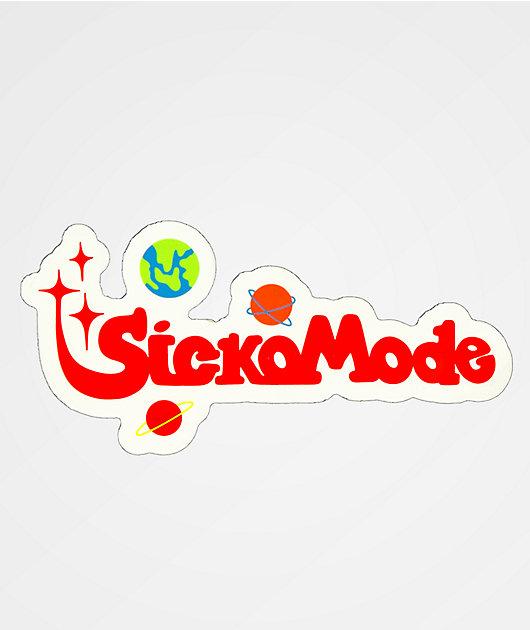 Stickie Bandits Sicko Mode Sticker